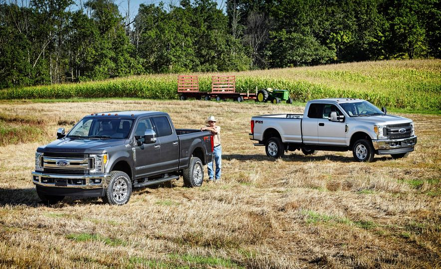 2017 Ford F-250 Super Duty XLT and 2017 Ford F-250 Super Duty XL - Slide 1