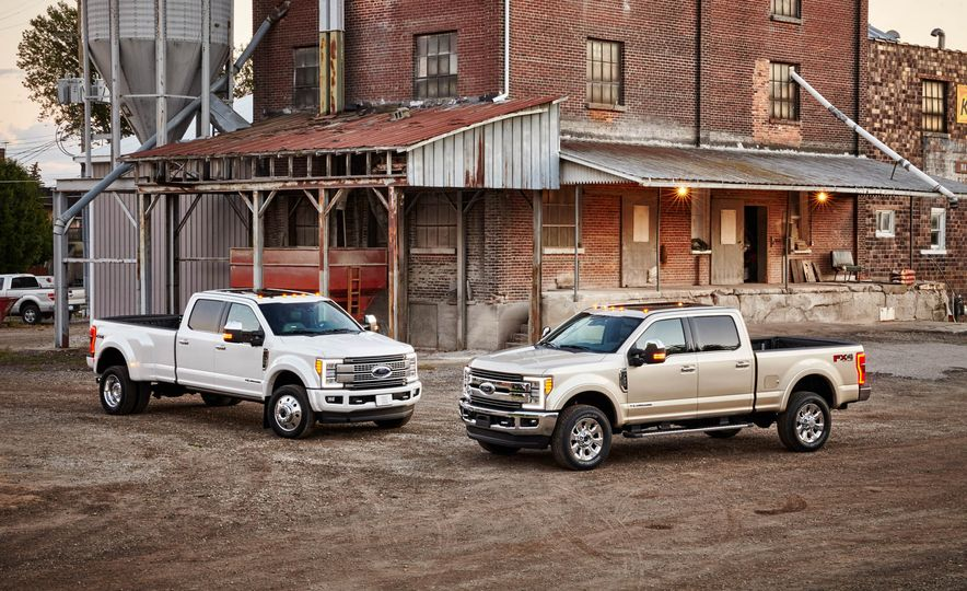 2017 Ford F-250 Super Duty XLT and 2017 Ford F-250 Super Duty XL - Slide 2