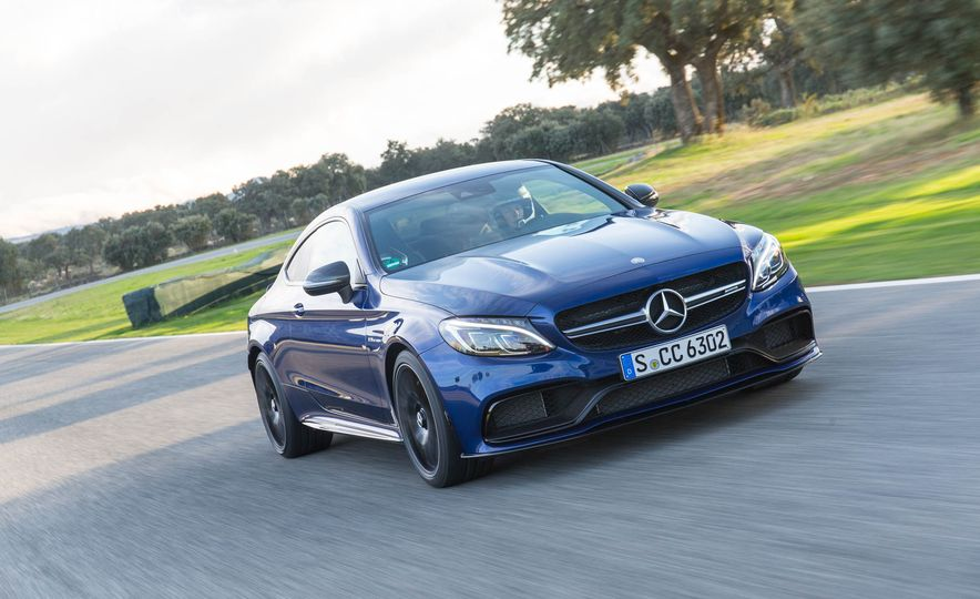 2017 Mercedes-AMG C63 coupe - Slide 1