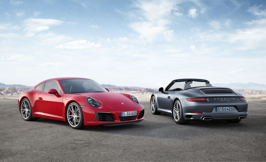 2017 Porsche 911 Carrera S and 911 Carrera cabriolet - Slide 1
