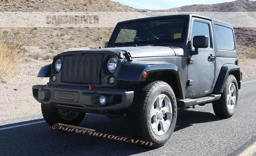 2017 Jeep Wrangler 2door Pictures  Photo Gallery  Car and Driver