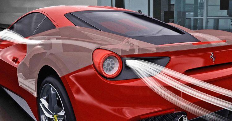 Aerosmithing: How the Ferrari 488GTB Makes the Air Its Ally