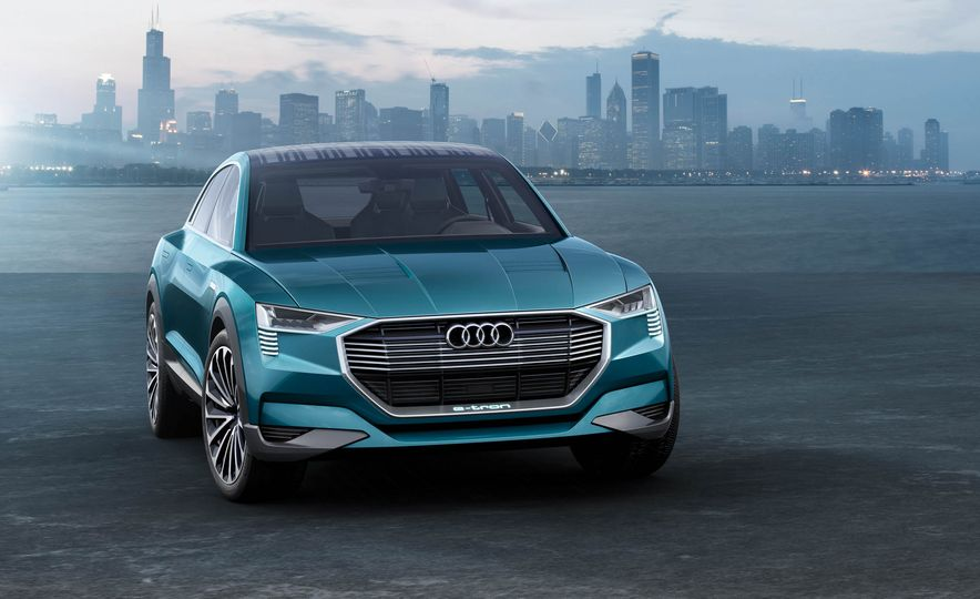 Audi e-tron Sportback concept - Slide 40