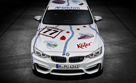 "One-Off BMW M3 in ""Münchner Wirte"" Livery Will Oktober Your Fest"