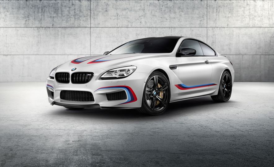 BMW M6 coupe Competition Edition - Slide 1