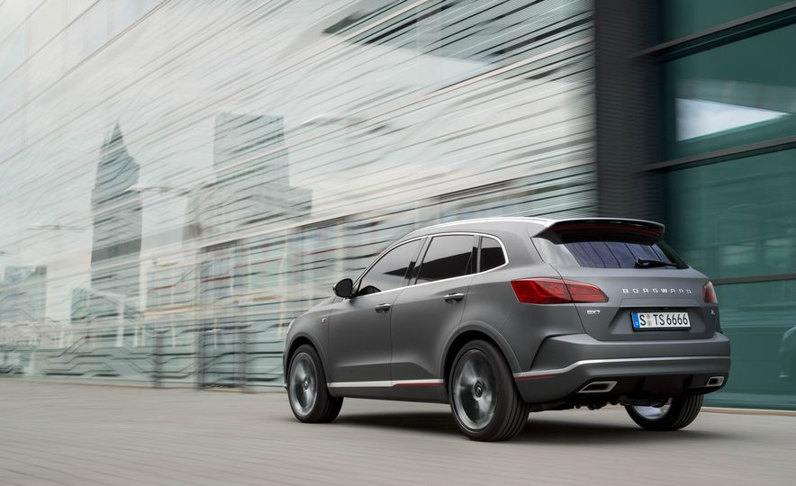 Borgward BX 7 AWD T-GDI - Slide 39
