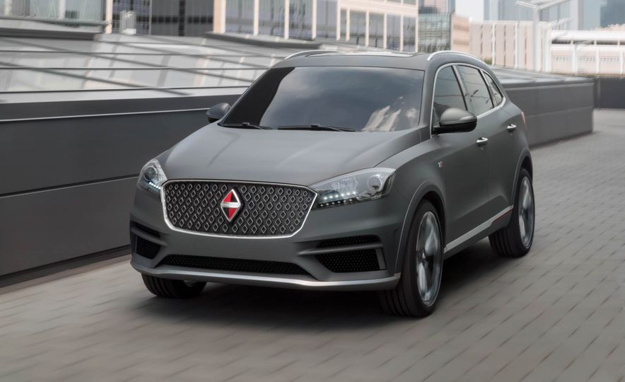 Borgward BX 7 AWD T-GDI - Slide 40