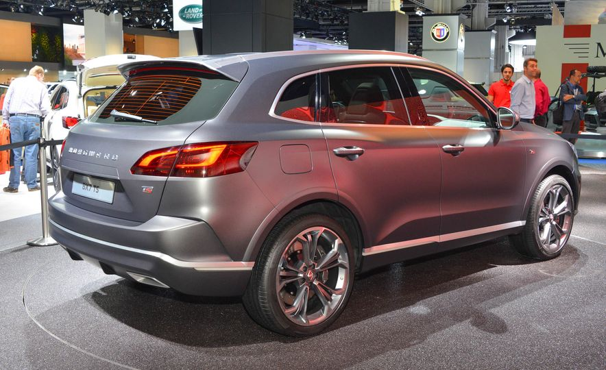 Borgward BX 7 AWD T-GDI - Slide 7