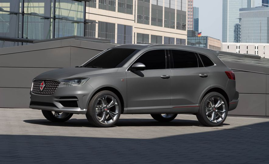 Borgward BX 7 AWD T-GDI - Slide 42