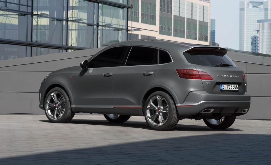 Borgward BX 7 AWD T-GDI - Slide 43