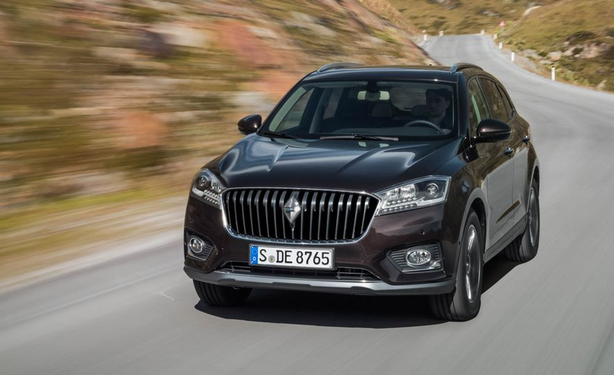 Borgward BX 7 AWD T-GDI - Slide 44