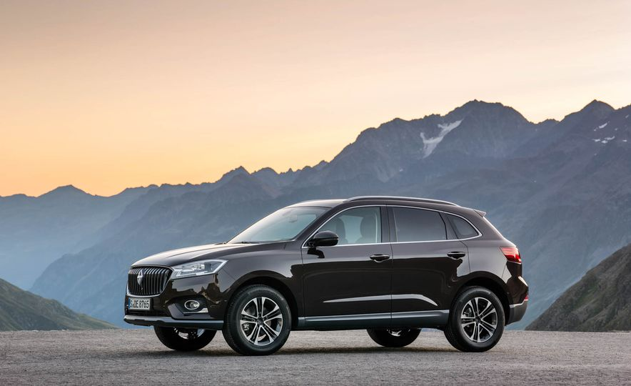 Borgward BX 7 AWD T-GDI - Slide 55