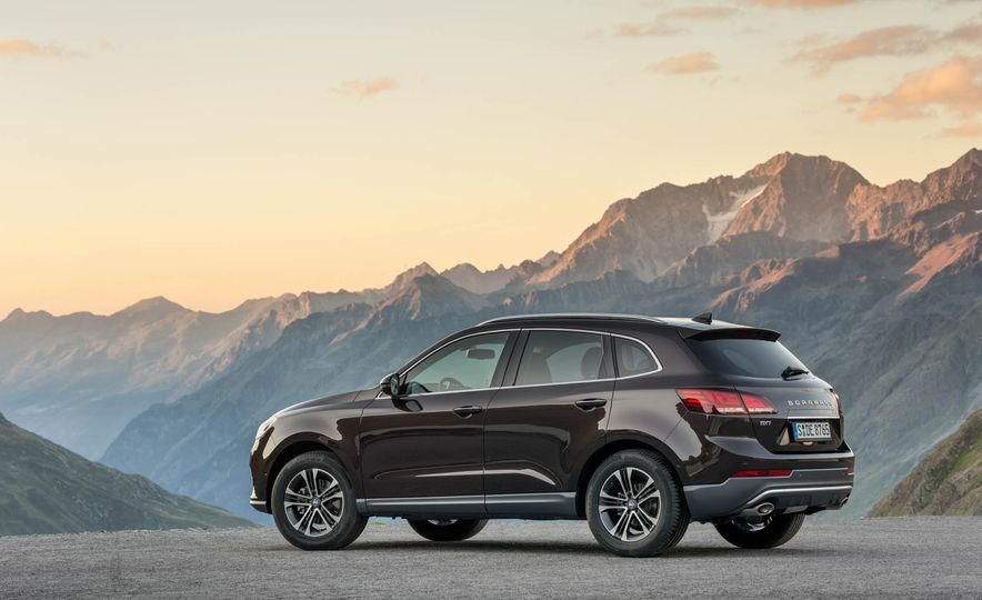 Borgward BX 7 AWD T-GDI - Slide 56