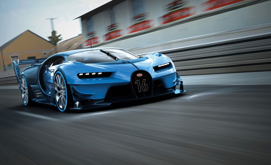 Bugatti Vision Gran Turismo concept - Slide 20