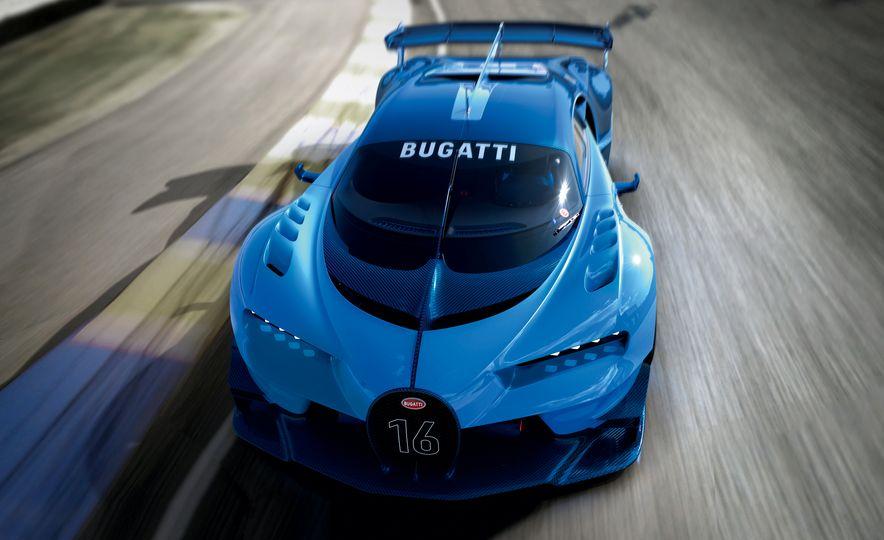 Bugatti Vision Gran Turismo concept - Slide 24