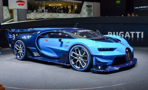 Bugatti Vision Gran Turismo Becomes Ever-So-Slightly More Real ... on lightning paint job corvette, lightning man, lightning ford,