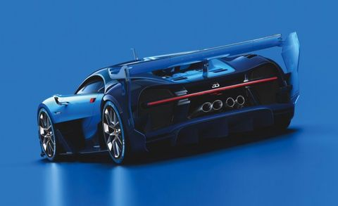 Bugatti Previews the 1480-hp Veyron Replacement