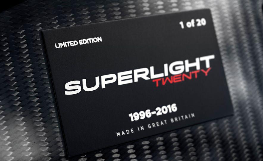 Caterham Superlight Twenty Special Edition - Slide 16