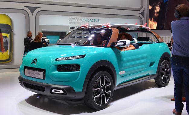 Citroën Cactus M concept Pictures   Photo Gallery