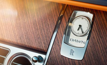 Break of Dawn: Rolls-Royce Releases Dawn Teaser Images Before Frankfurt Debut