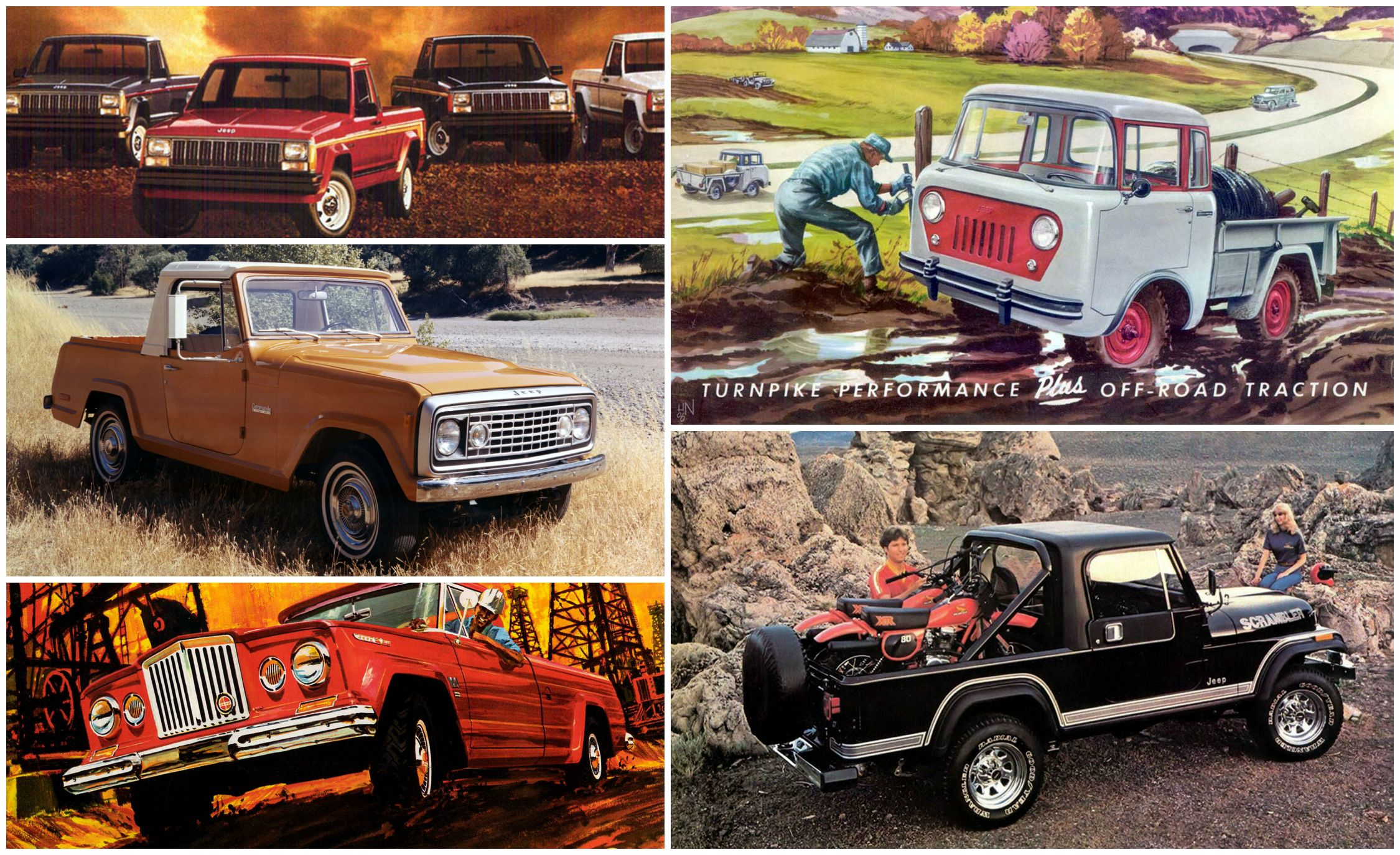 A Visual History Of Jeep Pickup Trucks The Lineage Is Longer Than You Think