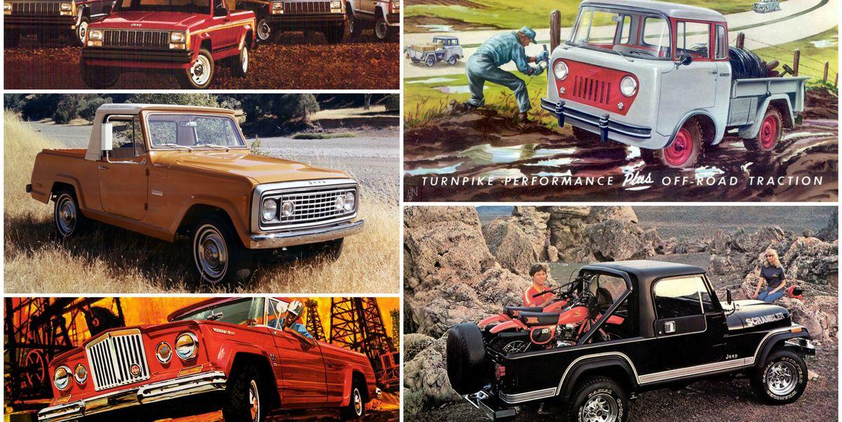 Jeep Pickup Truck History Go Beyond The Wrangler Pickup