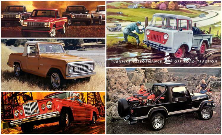 A Visual History of Jeep Pickup Trucks: The Lineage Is Longer Than You Think