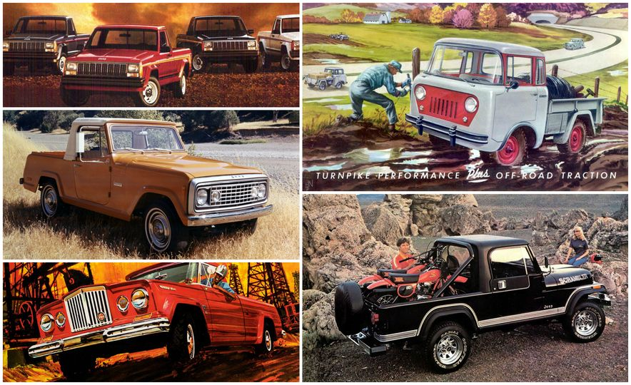 A visual history of jeep pickup trucks the lineage is longer than a visual history of jeep pickup trucks the lineage is longer than you think publicscrutiny Image collections