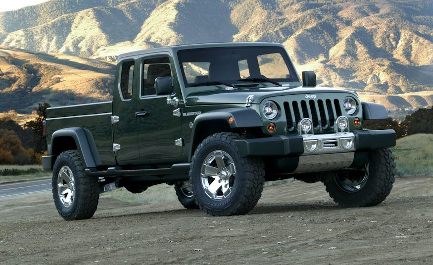 2005 Jeep(R) Gladiator Concept Vehicle - Slide 1