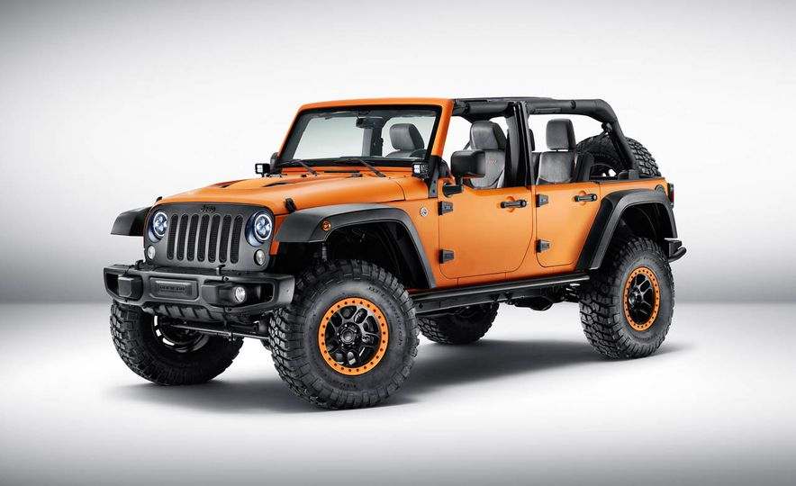 Jeep Wrangler Sunrise concept - Slide 1