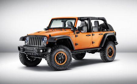 Jeep Wrangler Sunriser Concept Is Hellaciously Orange