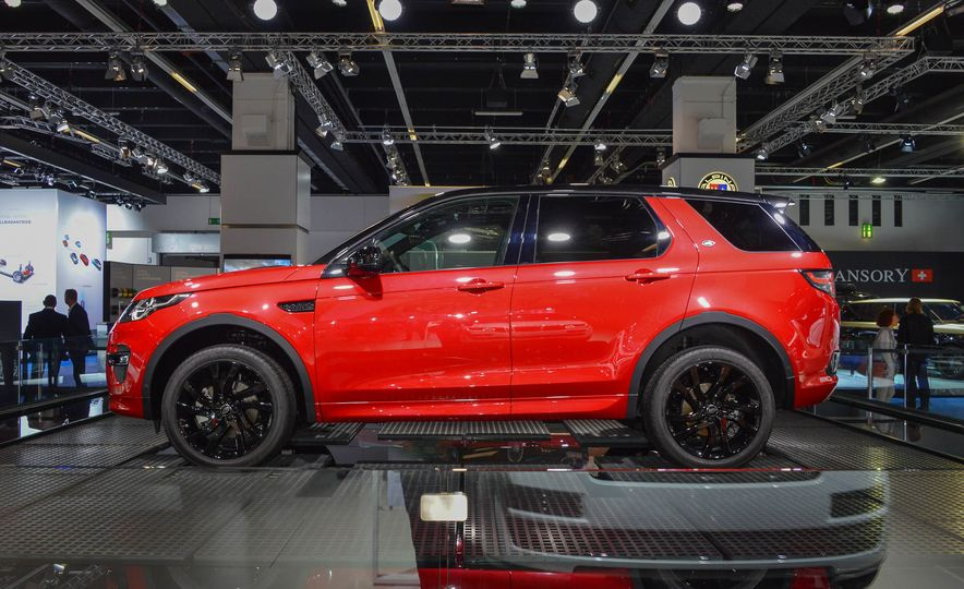 2016 Land Rover Discovery Sport Dynamic Edition - Slide 5
