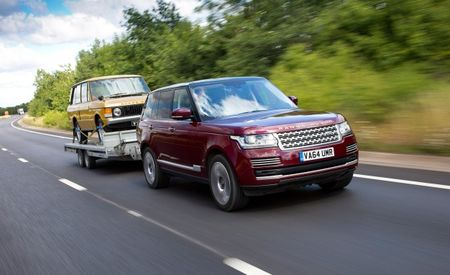 Land Rover Shows Off New High-Tech Trailering Helpers