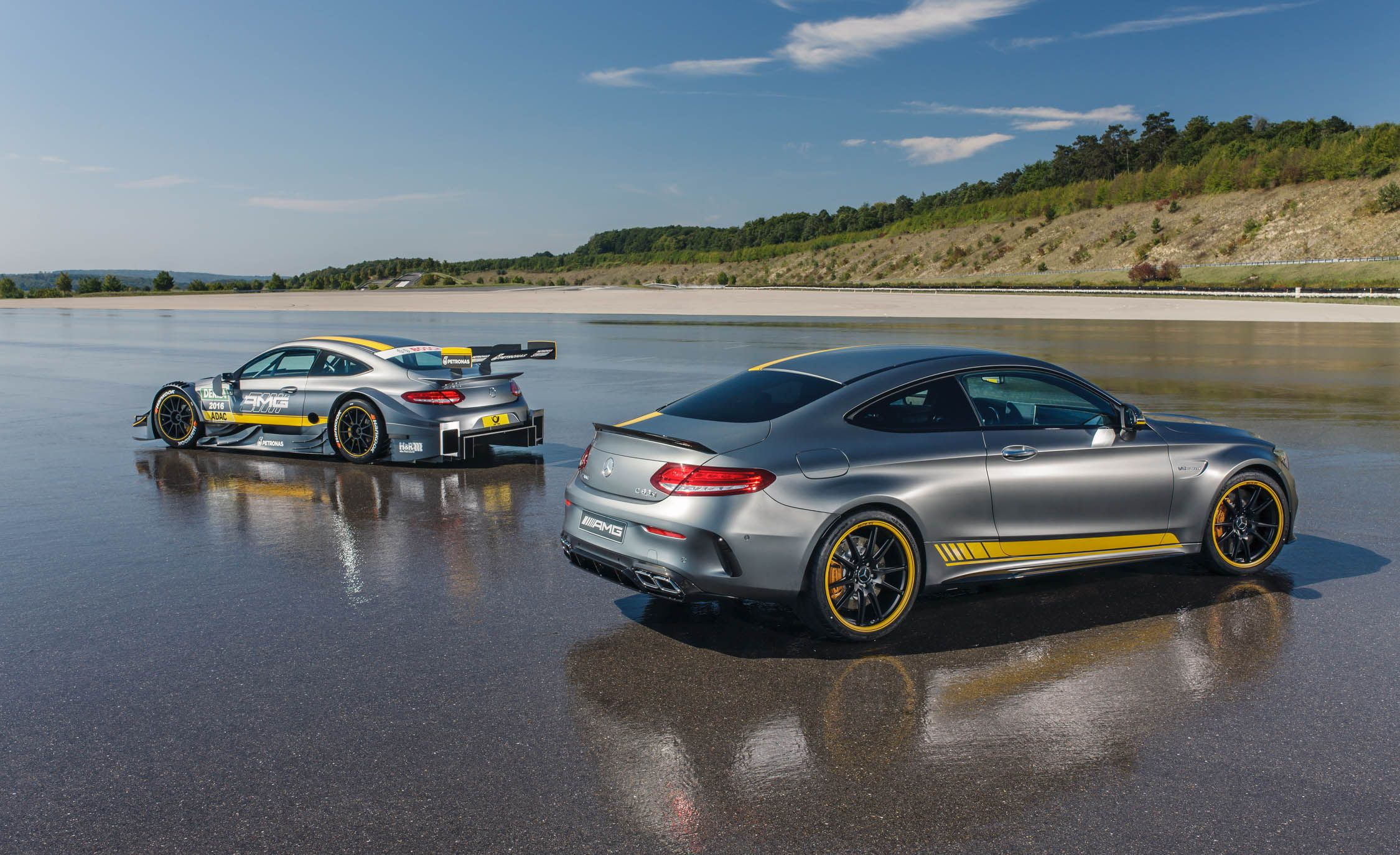 2017 mercedes-amg c63 coupe pictures | photo gallery | car and driver