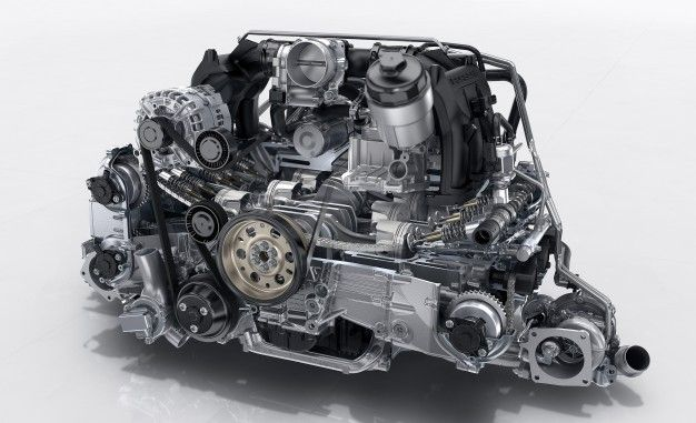 Tech Dive: In-Depth with the New Porsche 911 Carrera's Twin-Turbo Flat-Six