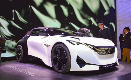 Frickin' Fractal: Peugeot's Newest Concept Features Big Audio Dynamite
