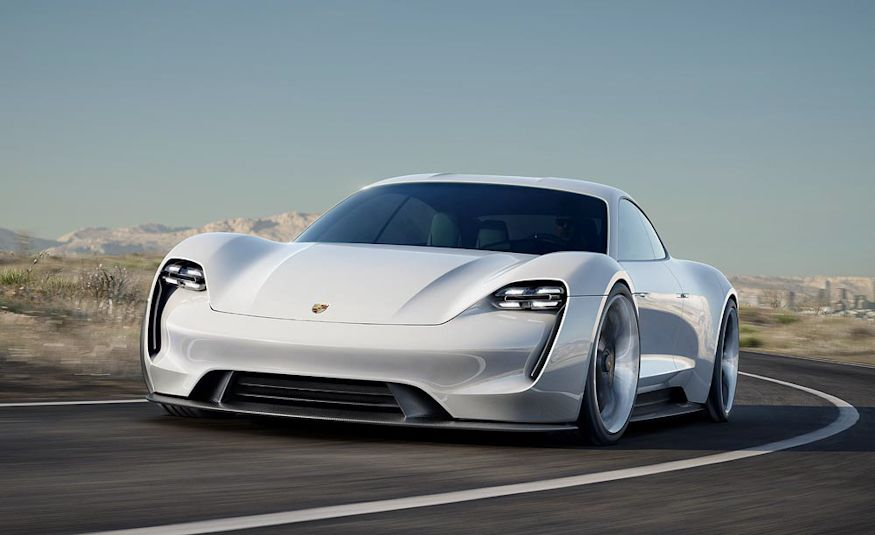 Porsche Mission E concept - Slide 4