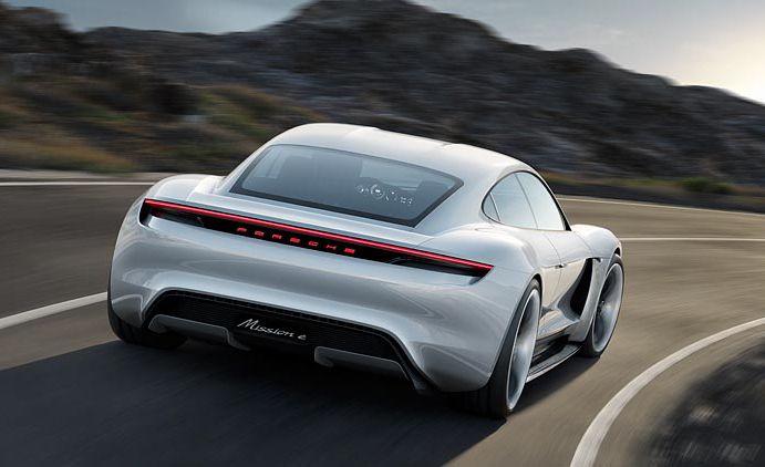 Porsche Mission E concept - Slide 5