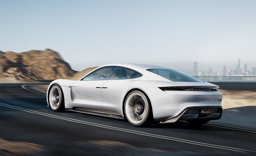Porsche Mission E concept - Slide 7