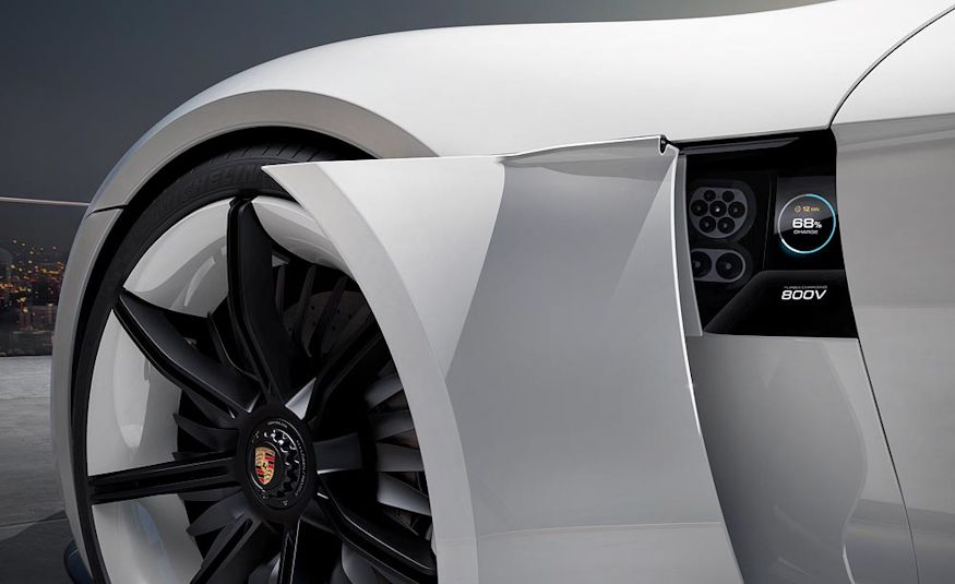 Porsche Mission E concept - Slide 10