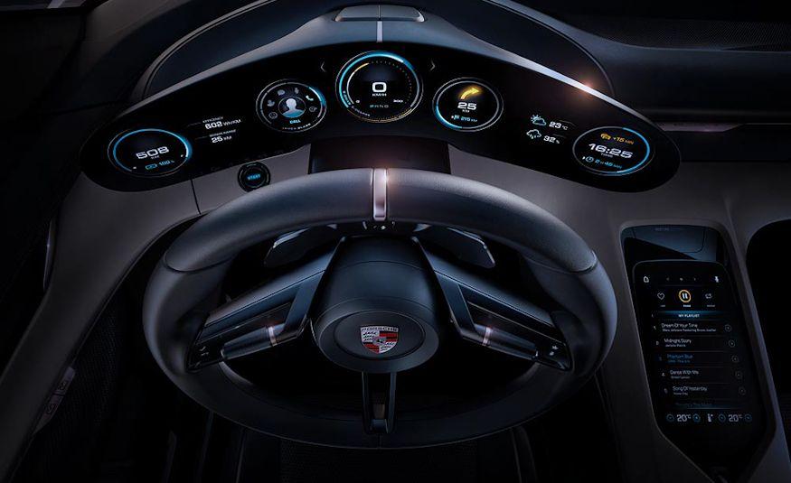 Porsche Mission E concept - Slide 15