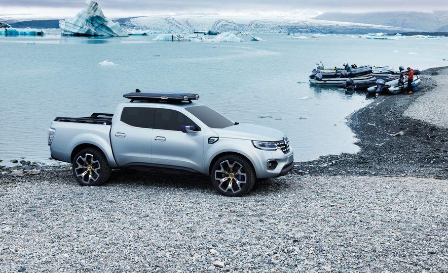 Renault Alaska pickup concept - Slide 1