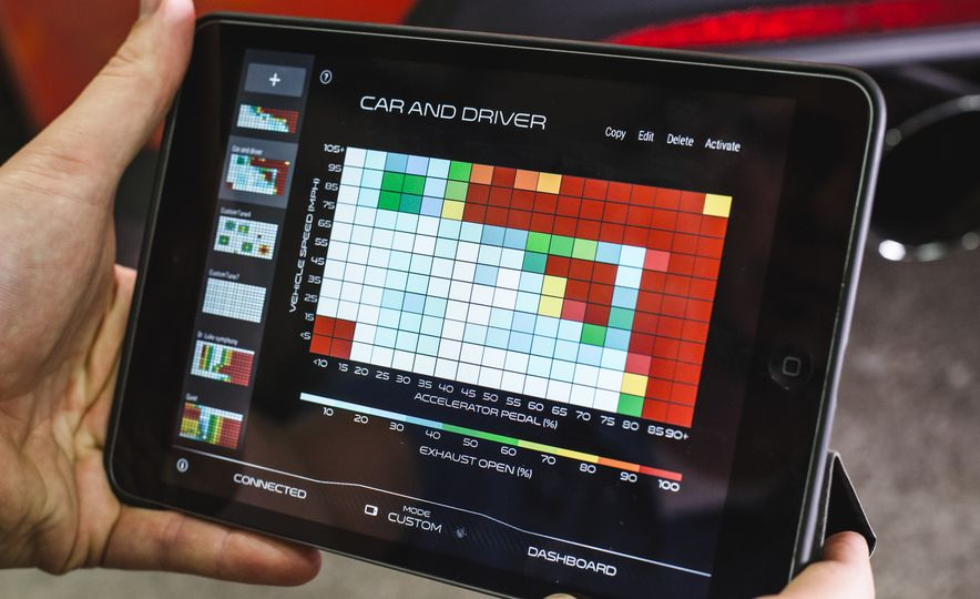 Sonic Reducer: Roush Active-Exhaust App Lets Users Create Custom Exhaust Tune - Slide 18