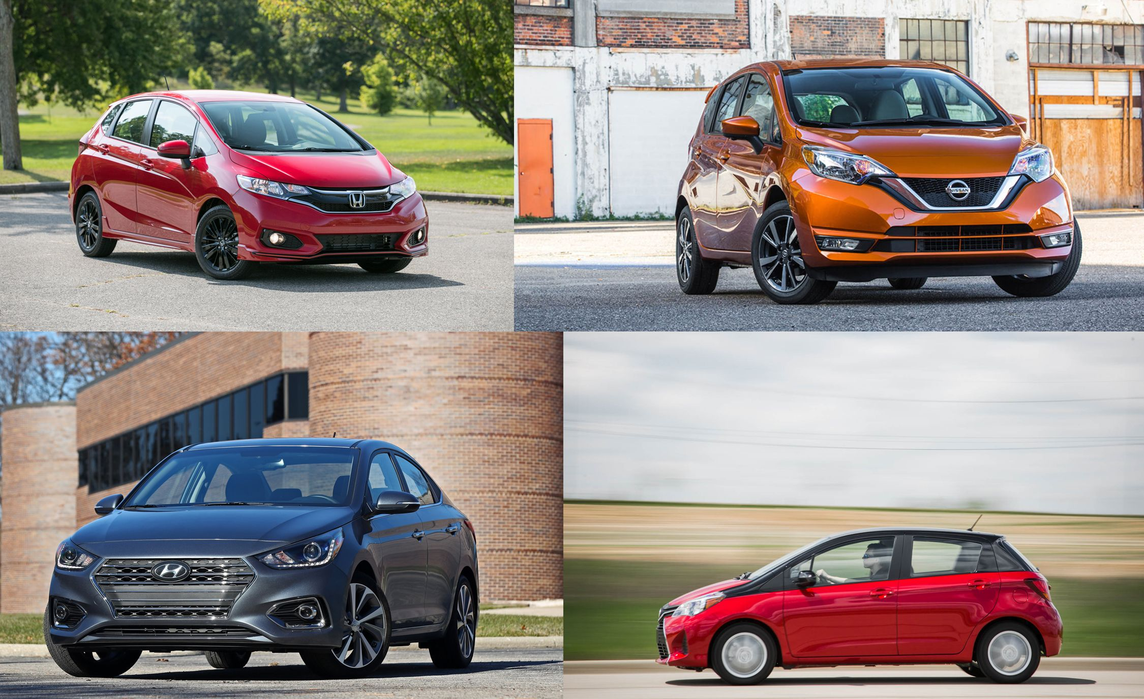 Thrifty Agenda Subcompacts Ranked From Worst To Best Feature Car And Driver