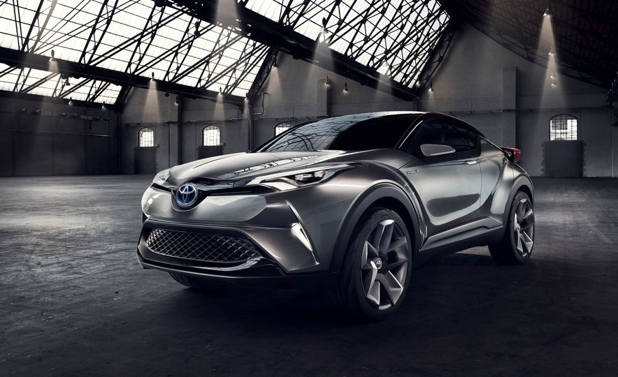 Toyota C-HR concept - Slide 27
