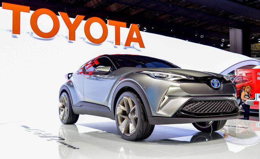 Toyota C-HR concept - Slide 1