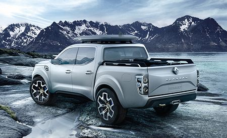 A Burly Pickup Appears in the Rugged Alaskan Wilderness, and It's—a Renault?