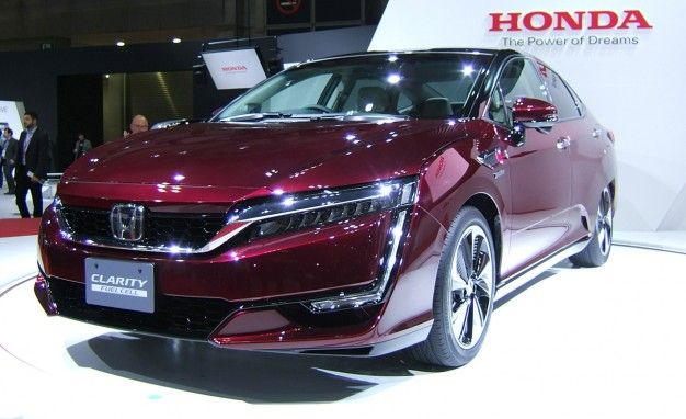 Honda Reveals Production-Ready FCV Fuel-Cell Vehicle