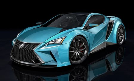 Lexus and BMW Said to Be Teaming Up for Supercar Project