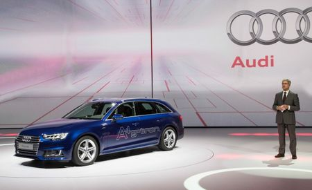 Bow Wow Wow Yippee Ja, Yippee Yay: Audi Shows A4 g-tron at Frankfurt